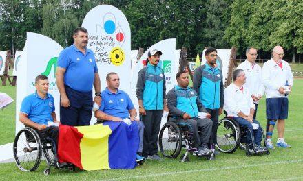 Lotul Compound Seniori Paralimpic a obținut un valoros loc 2 la competiția Cupa Europeana (2nd leg), 2018, Nove Mesto