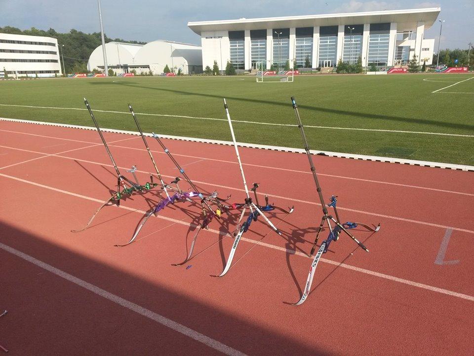 Lotul Olimpic in cantonament la Izvorani, Octombrie 2015